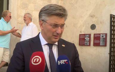 Andrej Plenković na Hvaru - 2