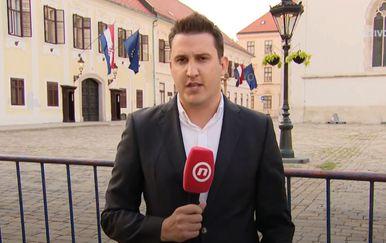 Domagoj Mikić na Markovu trgu
