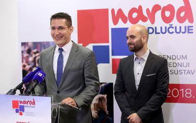 Zvonimir Troskot i Luka Mlinarić (Foto: Igor Kralj/PIXSELL)