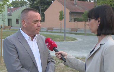 Ivan Vrkić i Marina Bešić Đukarić (Foto: Dnevnik.hr)