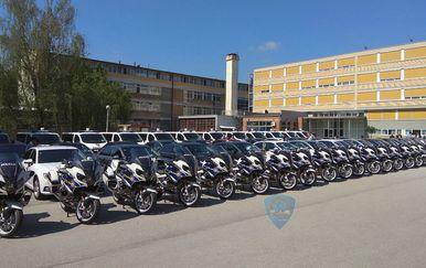 Policija dobila nove presretače, kombije i motore (Foto: Opći sindikat MUP-a)