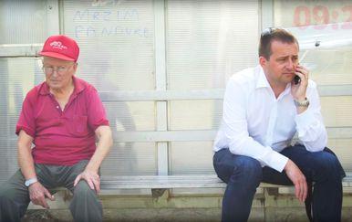 Gradonačelnik Trogira Ante Bilić (Screenhot: YouTube)
