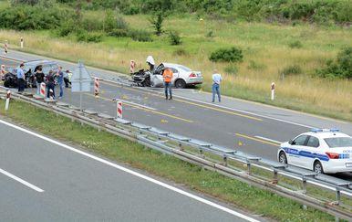 Prometna nesreća (Foto: Nikola Cutuk/PIXSELL)