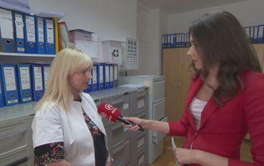 Dr. Neda Ferenčić i Sanja Vištica (Foto: Dnevnik.hr)