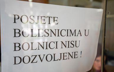 Dubrovačka bolnica, ospice (Foto: Grgo Jelavic/PIXSELL)