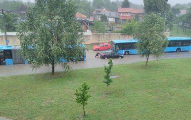 Nevrijeme i poplava u Zagrebu (Foto: Čitatelj) - 4