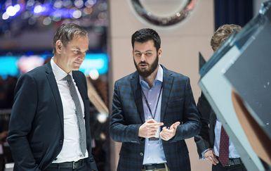 Oliver Blume, CEO Porschea, i Mate Rimac, osnivač i CEO Rimac Automobila (Foto: Rimac Automobili)