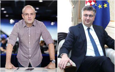 Andrej Plenković gostuje u Dnevniku Nove TV (Foto: PIXSELL)