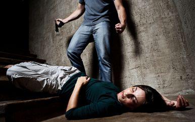Muškarac koji tuče ženu, ilustracija (Getty Images)