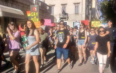 Split Pride 2018. (Foto: Šime Vičević)