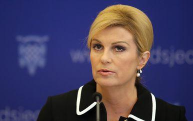 Predsjednica Kolinda Grabar-Kitarović (Foto: Goran Stanzl/PIXSELL)