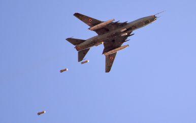 Bombardiranje u Siriji, arhiva (Foto: AFP)