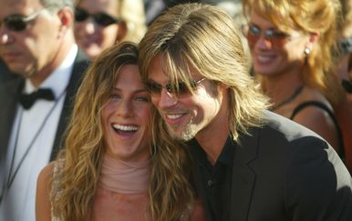Jennifer Aniston i Brad Pitt (Foto: Profimedia)