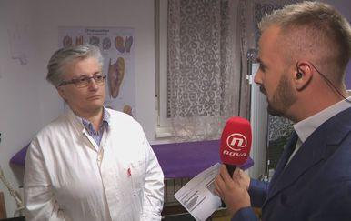 Dr. Josipa Rodić i Vjekoslav Đaić (Foto: Dnevnik.hr)