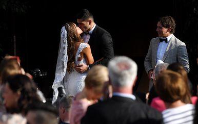 Vjenčanje Filipa Hrgovića i Marinele Ćaja (Foto: Marko Lukunic/PIXSELL) - 11