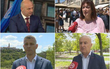 Mislav Kolakušić, Dubravka Šuica, Valter Flego, i Predrag Fred Matić (Foto: Dnevnik.hr)