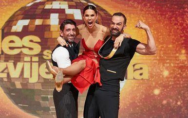 Slavko Sobin, Ivan Šarić i Viktorija Rađa (Foto: Instagram)
