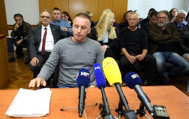 Krunoslav Fehir svjedoči na suđenju Branimiru Glavašu (Foto: Marko Lukunic/PIXSELL)