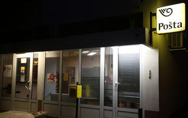 Pljačka pošte u Splitu (Foto: Miranda Cikotic/PIXSEL)
