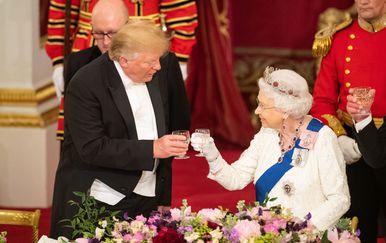 Donald Trump i kraljica Elizabeta (Foto: Getty Images)