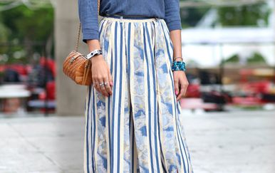 Duge suknje u svaku kombinaciju donose dozu glamura