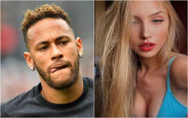 Neymar i Najila Trindade (Foto: AFP/Instagram)