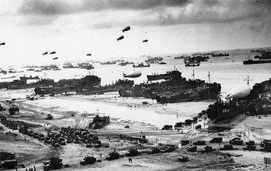 Savezničko iskrcavanje u Normandiji (Foto: Arhiva/AFP) - 8