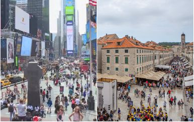 New York i Dubrovnik (Foto: Dnevnik.hr/Grgo Jelavic/PIXSELL)