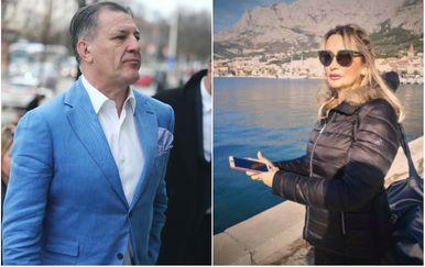 Zdravko Mamić i Lejla Fazlagić (Foto: Davor Javorovic/PIXSELLDnevnik.hr)