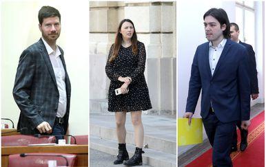 Ivan Pernar, Vladimira Palfi, Ivan Vilibor Sinčić (Foto: Pixell)