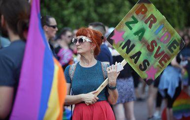 "Povorka ponosa LGBTIQ osoba i obitelji Zagreb Pride 2019. pod sloganom \""Osamnaest ponosnih godina\"" (Foto: Slavko Midzor/PIXSELL) - 1"