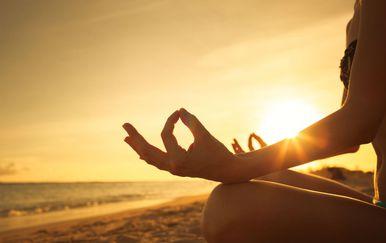 Meditacija uz zalazak sunca
