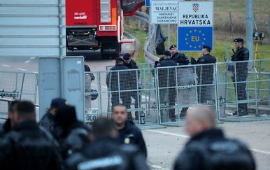 Granični prijelaz Maljevac - Velika Kladuša, ilustracija (Foto: Sanjin Strukic/PIXSELL)
