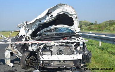 Prometna nesreća na A3 (Foto: PU brodsko-posavska)