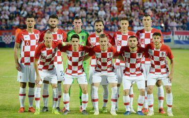Hrvatska protiv Tunisa (Foto: Vjeran Zganec Rogulja/PIXSELL)