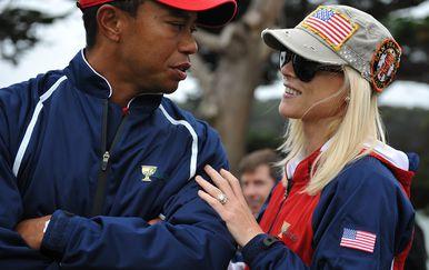 Tiger Woods i Elin Nordegren (Foto: AFP)