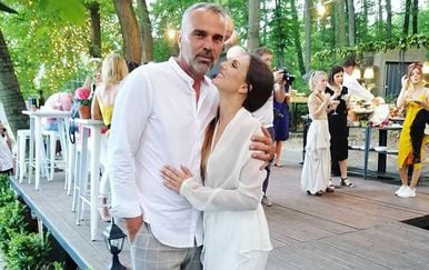 Gabriela Pilić i Marin Komadina (Foto: Instagram)