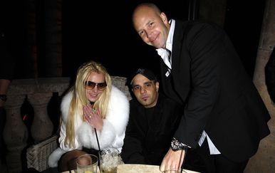 Britney Spears i Sam Lufti (Foto: AFP)