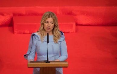 Zuzana Čaputova preuzela dužnost slovačke predsjednice (Foto: AFP)