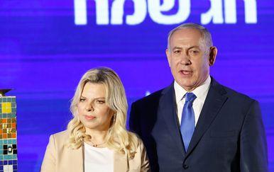 Sara i Benjamin Netanyahu (Foto: AFP)