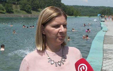 Ana Marija Petin, gradonačelnica Orahovice (Foto: Dnevnik.hr)