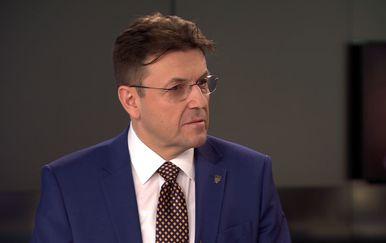 Predsjednik Hrvatske gospodarske komore Luka Burilović gostuje u Dnevniku Nove TV (Foto: Dnevnik.hr) - 1