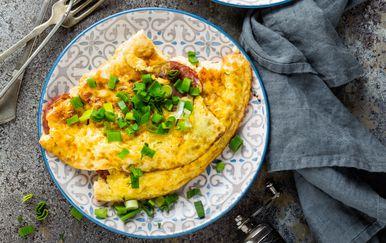 Ilustracija omleta