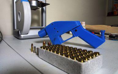 3D printanje pištolja (Foto: AFP)