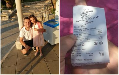 Djevojčicu u Dubrovniku nije želio oderati za skupi sladoled (Foto: Facebook/Ivan Radošević)