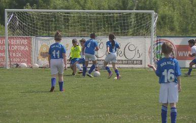 Dječja nogometna utakmica u Bilju (Foto: Dnevnik.hr) - 1