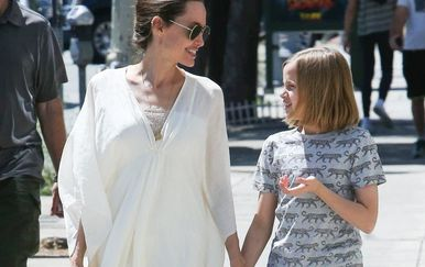 Angelina Jolie i Vivienne (Foto: Profimedia)