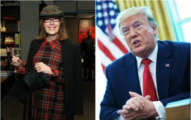 E. Jean Carroll i Donald Trump (Foto: AFP)