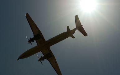 Turbo-prop zrakoplov, ilustracija (Foto: AFP)