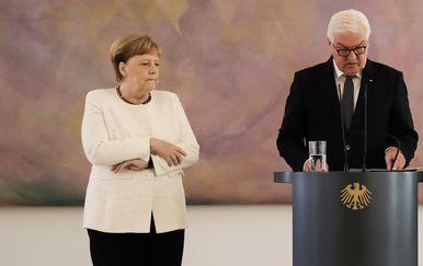 Angela Merkel na sastanku s njemačkim predsjednikom (Foto: AFP) - 3